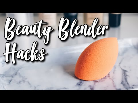the BEST AND ONLY way to clean a beauty blender