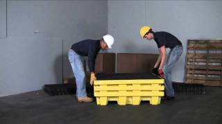 Nestable Spill Pallets Save Valuable Floor Space