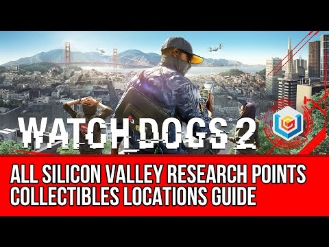 Watch Dogs 2 All Silicon Valley Research Points Collectibles Locations Guide