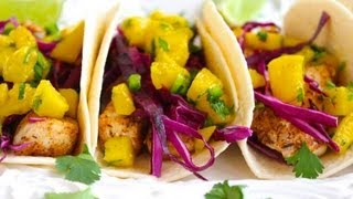 Taco Recipe: Fish Taco With Mango Salsa By Cookingforbimbos.com