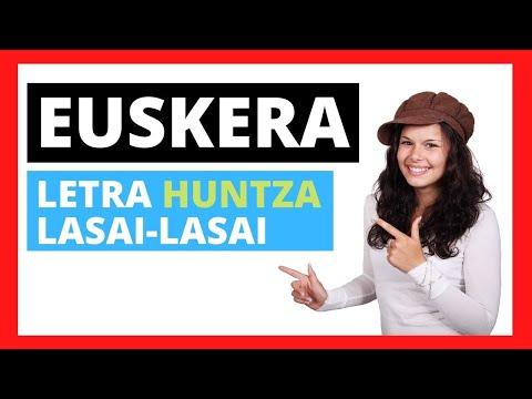 Aprender euskera cantando:
