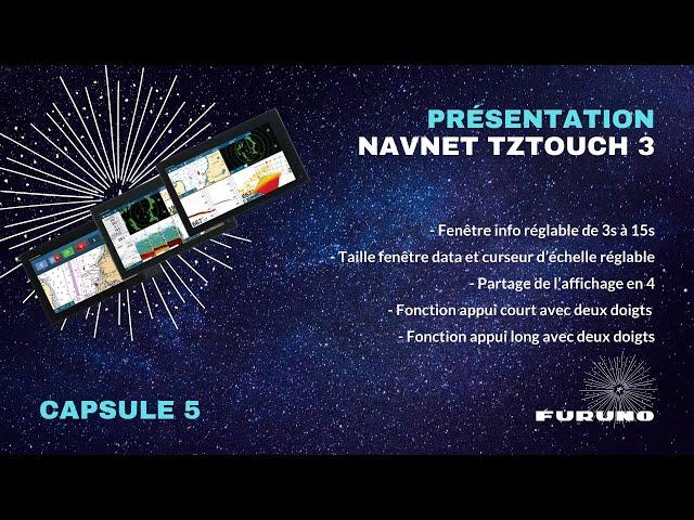 Écran Multifonction NavNet TZtouch 3 | Options tactiles et d'affichage