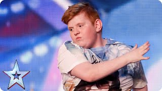 Dylan can cut some shapes, but will he cut it with the Judges? | Britain's Got Talent 2015