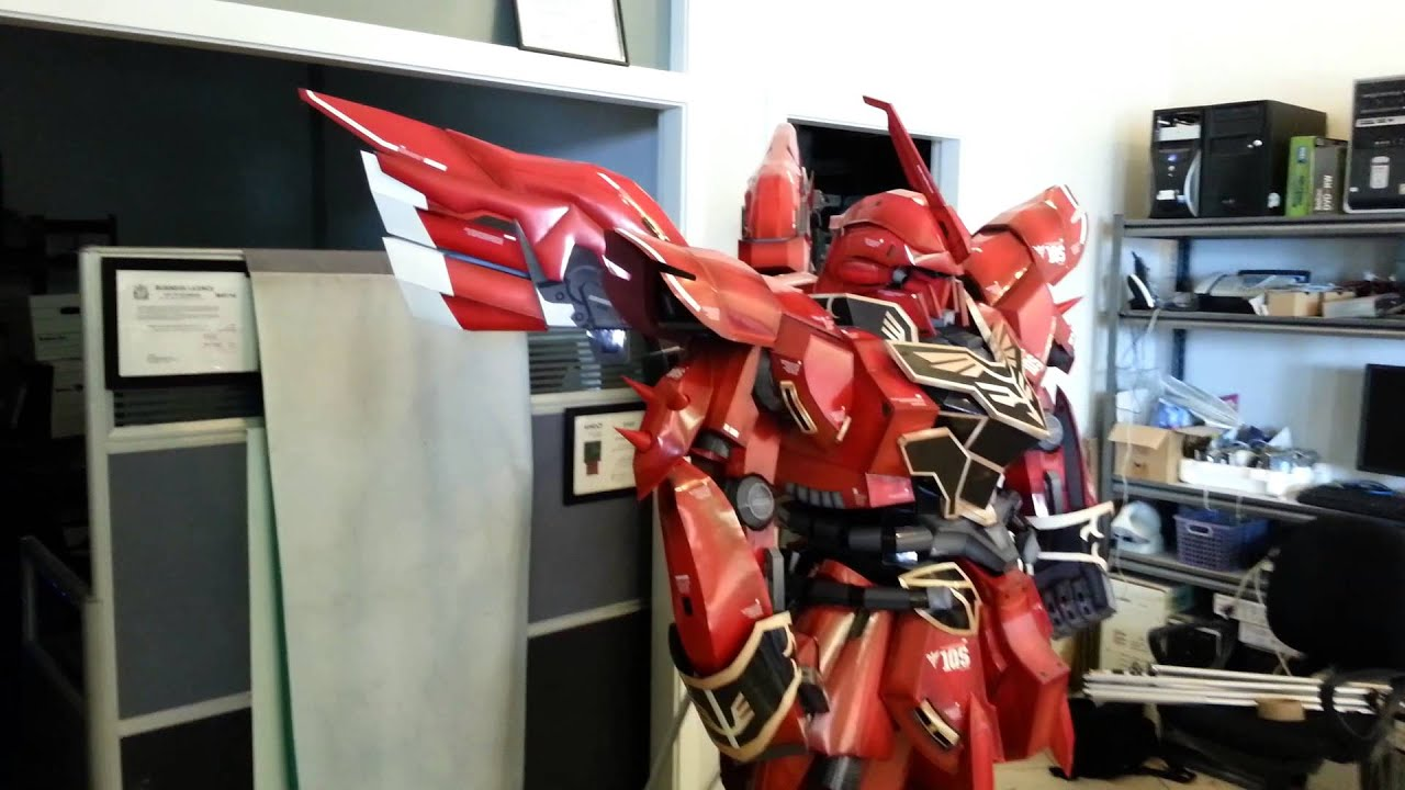 Papercraft 1:12 Mobile Suit Gundam Unicorn Sinanju 新安洲 Paper Model 機動戰士 獨角獸