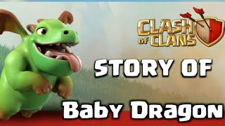 Story Of Baby Dragon in Hindi| baby dragon story in Hindi coc|clash of clans