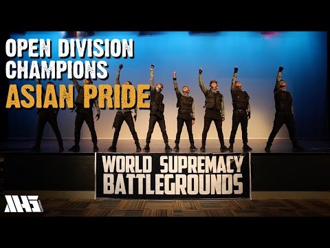 ASIAN PRIDE (Philippines) | OPEN DIVISION CHAMPIONS | WORLD SUPREMACY BATTLEGROUNDS 2015