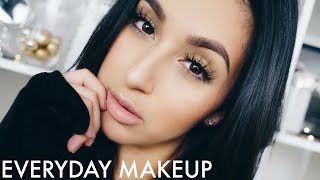 MY BASIC AF EVERYDAY MAKEUP TUTORIAL (MAINLY DRUGSTORE)