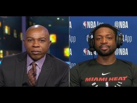 GameTime - Dwyane Wade on Heat win vs Jazz, Donovan Mitchell & His last year in NBA
