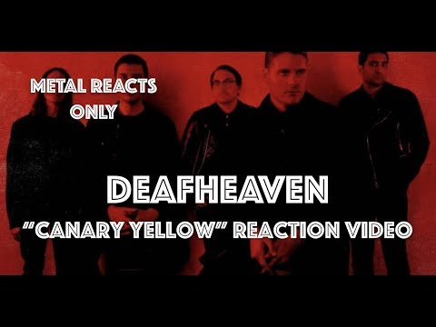 "DEAFHEAVEN ""Canary Yellow"" Reaction Video 