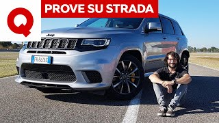 Jeep Grand Cherokee Trackhawk: oltre la Urus. Ma a cosa serve?