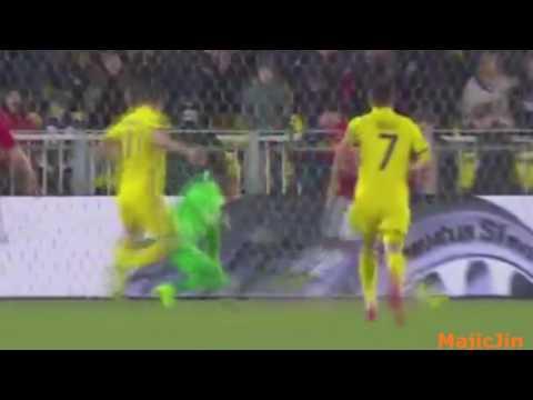 Ростов  1- 1 Манчестер Юнайтед 1-1 Гол Мхитарян, И.Бухаров(Обзор матча, 09.03.2017)