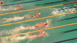 Amsterdam SwimCup-2014 - Christoffer Carlsen (M.A. SK) - 100 vrij