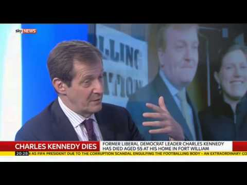 Alastair Campbell Pays Tribute To His Friend Charles Kennedy