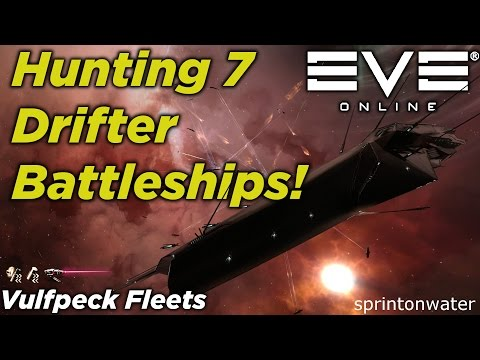 EVE Online: Vulfpeck Fleets Takes On 7 Drifter Response Battleships! // PVE GAMEPLAY //