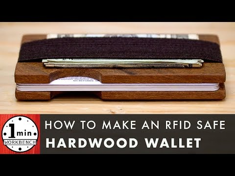 Wood Wallet DIY