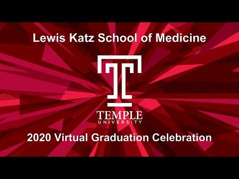 2020 Lewis Katz School Of Medicine Virtual Celebration