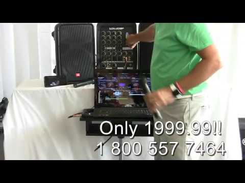 Houston Karaoke Dj Laptop Professional Portable Jbl System