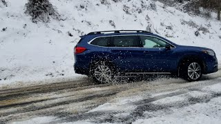 2019 Subaru Ascent Vs. Snowmageddon