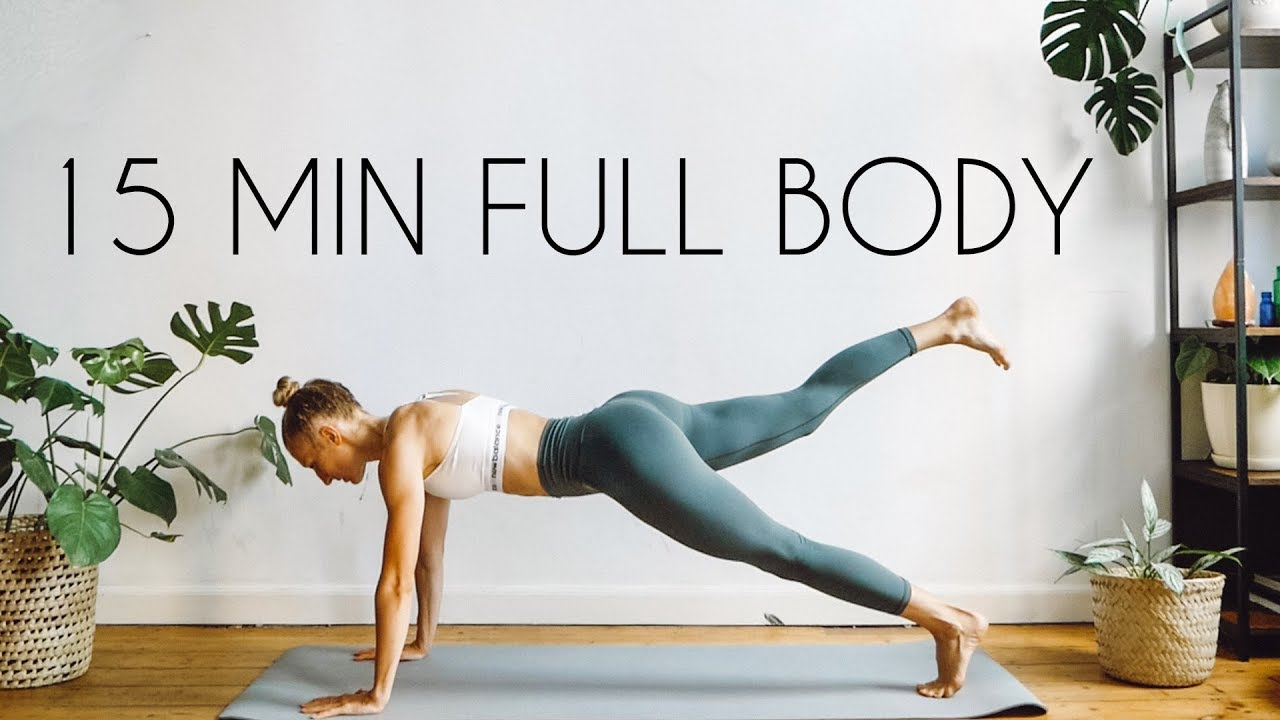 15 MIN FULL BODY WORKOUT | At Home & Equipment Free