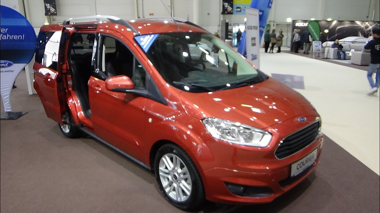 2018 ford tourneo courier titanium exterior and interior. Black Bedroom Furniture Sets. Home Design Ideas