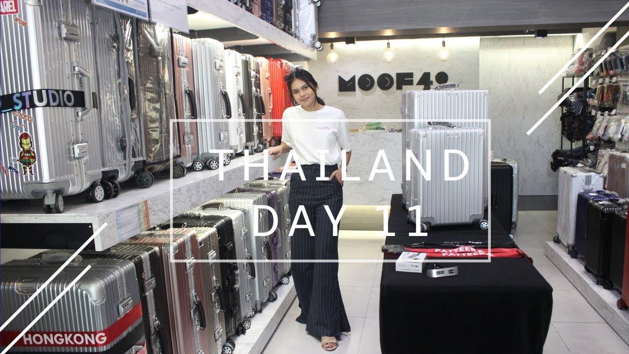 Thailand Vlog l พาไปเลือกกระเป๋าเดินทางใบใหม่ สีไหน ไซส์ไหนที่เหมาะกันเรา x moof49