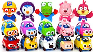 Let's play in Tayo amusement park on Pororo Kamicar!   PinkyPopTOY