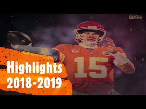 Patrick Mahomes 2018-19 Highlights (HD)