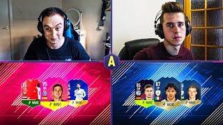 NIESAMOWITE STATKI O MOJE WSZYSTKIE IKONY! ADRYAN VS XENQ   FIFA 18