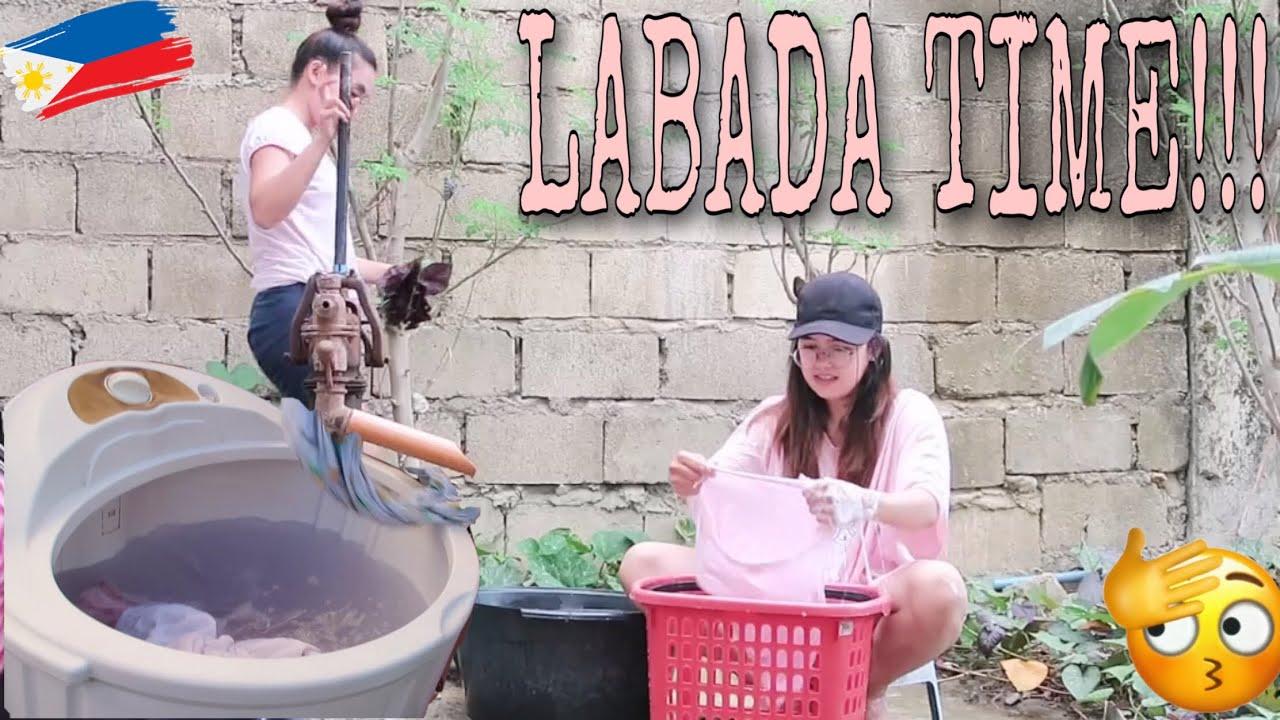 LABADA TIME👍🏻💕/BALIK POSO TAYO PARA TIPID SA BILL🤣(GRABI KASI BILL NAMIN)