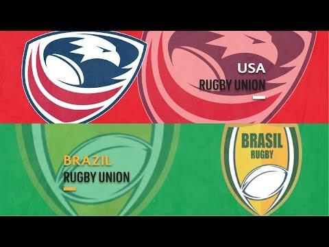 USA V Brazil - Americas Rugby Championship 2019 - Full Match