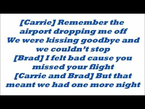 Brad Paisley ft. Carrie Underwood - Remind me