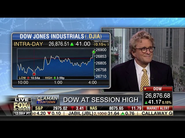 Paul Dietrich   Fox Business News 09 10 2019  The Claman Countdown