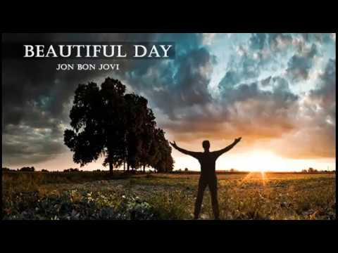 Jon Bon Jovi -  Beautiful Day (lyrics)