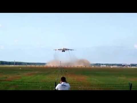 AN-225 Take Off Riga Airport 12.06.2014
