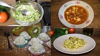 Постное меню на день Готовим борщ, пасту, салат и конфеты