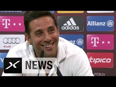 Herr Pizarro, was läuft da mit Werder Bremen? | Claudio Pizarro | FC Bayern München
