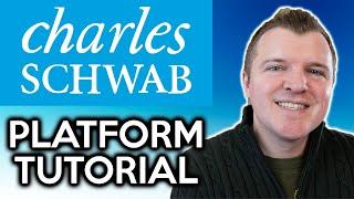 Charles Schwab Trading Platform Web Tutorial