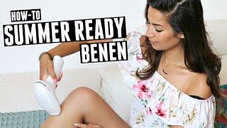 BENEN VOORBEREIDEN OP DE ZOMER | SUMMER LEGS | HOW-TO