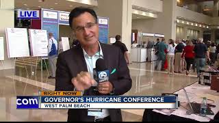 Governor speaks at hurricane conference, signs bill for hurricane and school tax holidays
