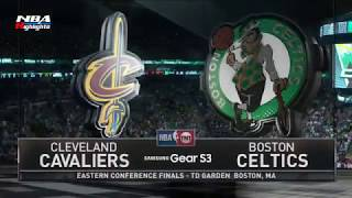 Cleveland Cavaliers vs Boston Celtics   1st Half Highlights  Game 1  May 17, 2017  NBA Playoffs