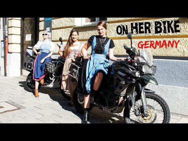 Germany. On Her Bike Around the World. Episode 25