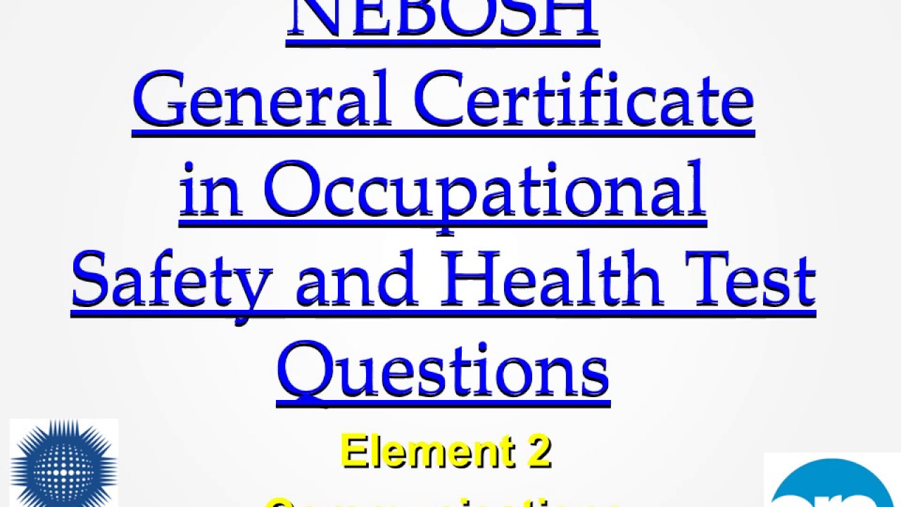 occupational health and safety questions