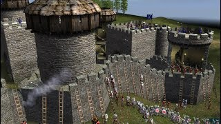 Amazing Game about Castles and Middle Ages ! Battle Of The Knights in Stronghold 2
