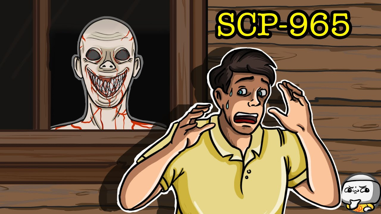 The Face In The Window SCP-965 (SCP Animation)