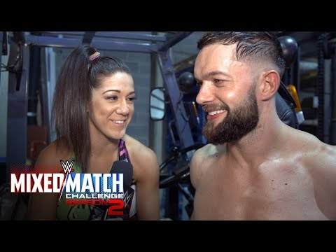 Finn Bálor & Bayley celebrate advancing to WWE MMC Playoffs
