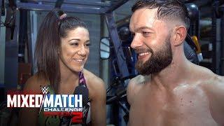Finn Bálor & Bayley celebrate advancing to WWE MMC Playoffs