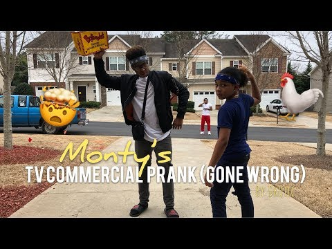 T.V Commercial Prank ( Gone Wrong