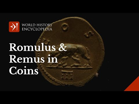 Romulus and Remus: a History of a Nation in Coins