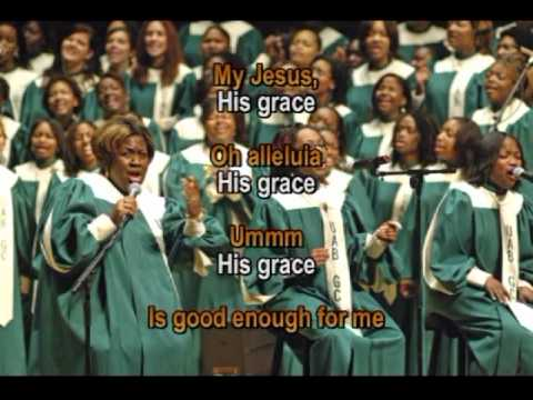 cantoral - his grace is good enogh for me (lyrics)