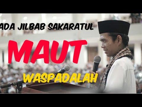 Lucu! Ada Jilbab Sakaratul Maut~Ust Abdul Somad,Lc MA